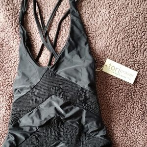 Tori Praver one piece swimsuit sz sm